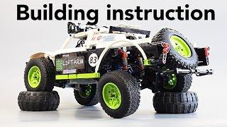 Инструкция / Building Instruction - Fastest LEGO Trophy Truck 2015