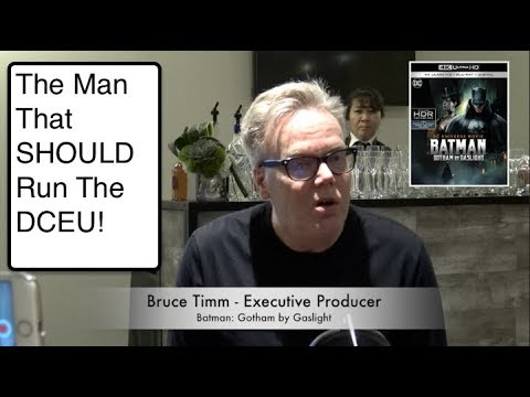Legendary Bruce Timm, The Man that Should Run DCEU Talks Batman Gotham by Gaslight and other stuff!