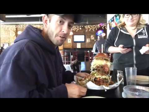 Tony Vs Rockstar Burger Challenge