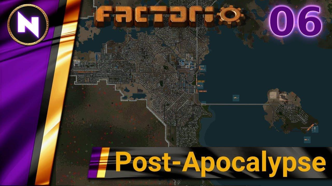 Factorio Post-Apocalypse #06 COAL TRAIN
