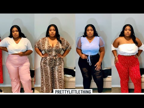 Pretty Little Thing Plus Size Try On Haul | Summer Plus Size Try On Haul | HANNAH OLIVIA