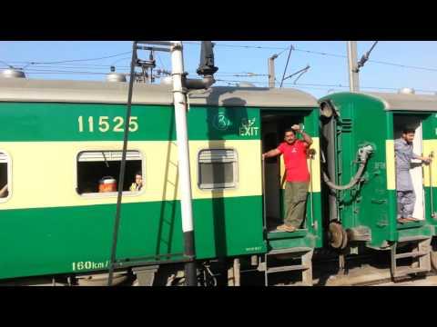 12-04-16 karakoram express lahore to karachi uploaded by haroon Khalid