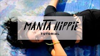 Como hacer una MANTA HIPPIE !