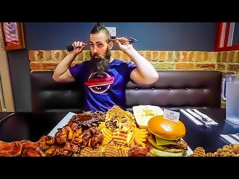 Hunger Games 10lb Undefeated BBQ Challenge @ Huckleberry's, Yeadon