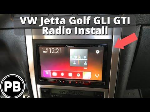 1999 - 2004 VW Golf / GTI / R32 Radio Install | MVH-2300NEX