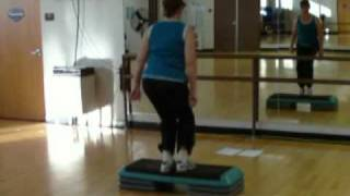 Video Free Basic Step Aerobic Workout Routine with Jump.flv download MP3, 3GP, MP4, WEBM, AVI, FLV Agustus 2018