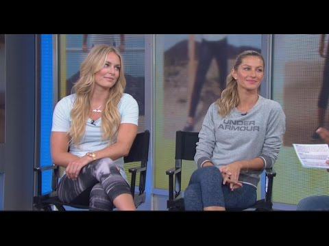 Lindsey Vonn and Gisele Bundchen Promote the 'I Will What I Want' Campaign