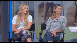 Lindsey Vonn and Gisele Bundchen Promote the
