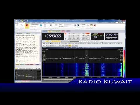 Aircheck Radio Kuwait 15540 KHz Shortwave (SWL)