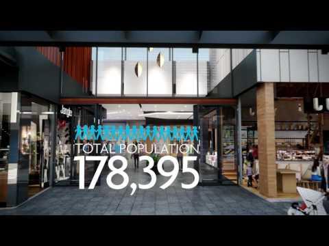 The Marketplace Gungahlin Fly Through 2016