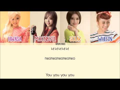 Mamamoo - I Miss You [Eng/Rom/Han] Picture + Color Coded HD