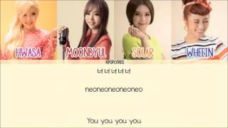 [3.87 MB] Mamamoo - I Miss You [Eng/Rom/Han] Picture + Color Coded HD