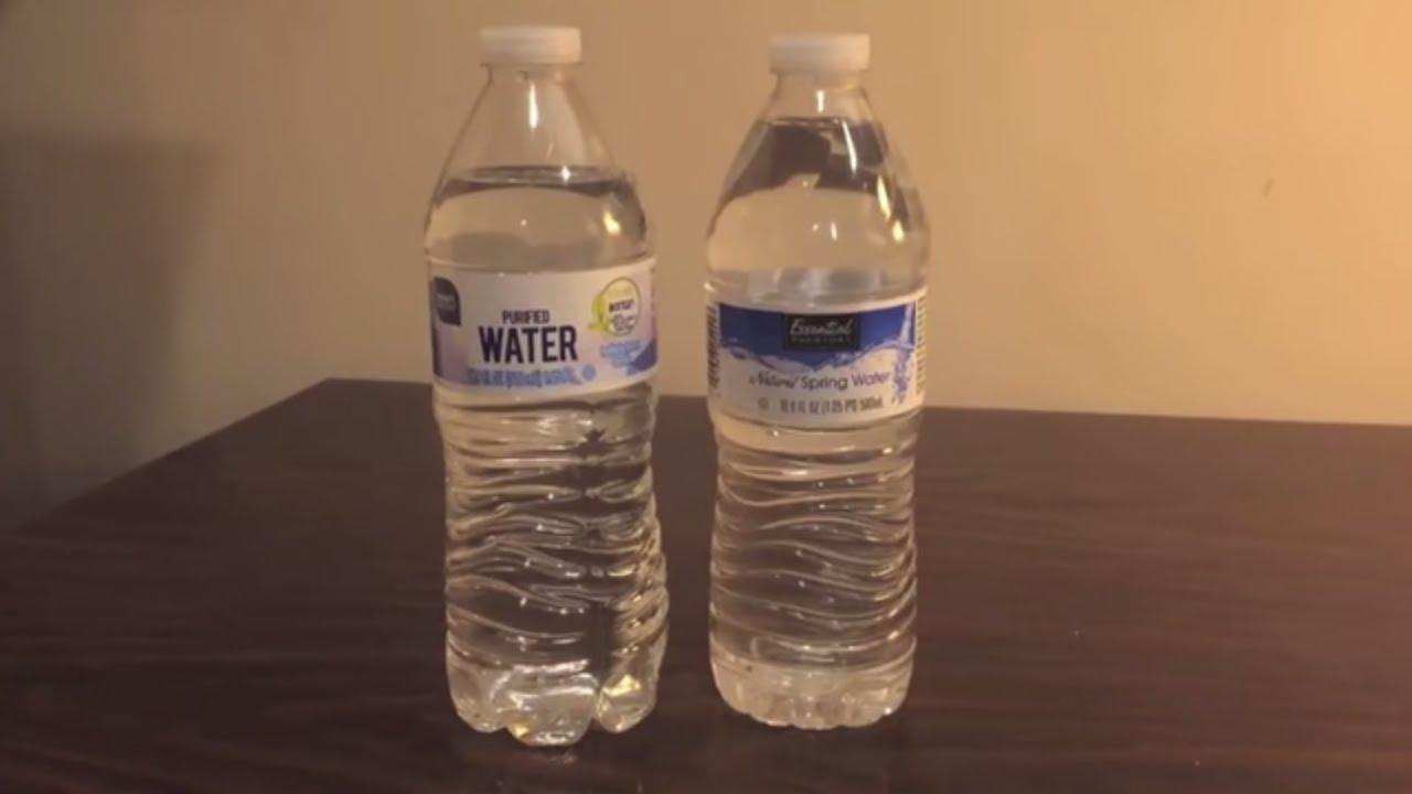 Jon Drinks Water 4315 Smart Sense Purified Water Vs