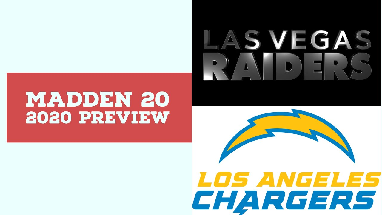 2020 Week 9 Preview - Las Vegas Raiders vs Los Angeles Chargers - Simulation Nation