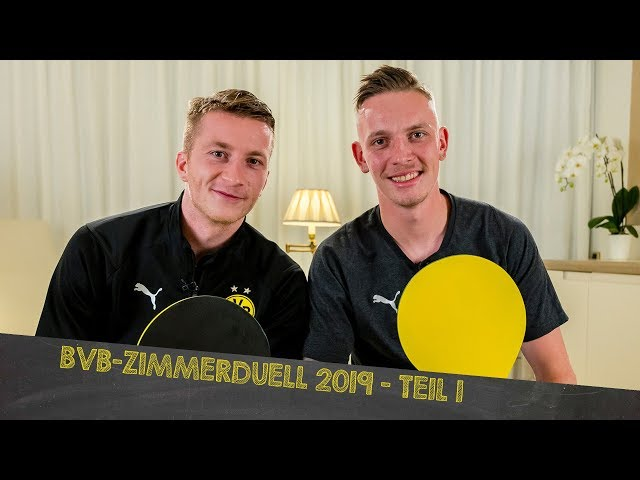 BVB Dorm Duel 2019 w/ Reus and Wolf as hosts! | Part 1