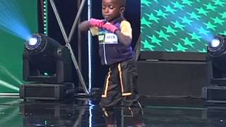 5 Year Old Alingo Dancer on #NGT2
