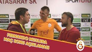 Fernando Muslera'dan Maç Sonu Açıklamaları | #GSvBJK