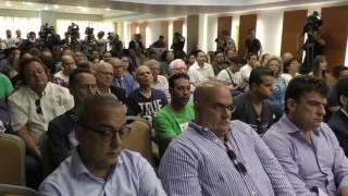 Presentación de la Candidatura de Pier Luigi Cherubino a la presidencia del CD Tenerife