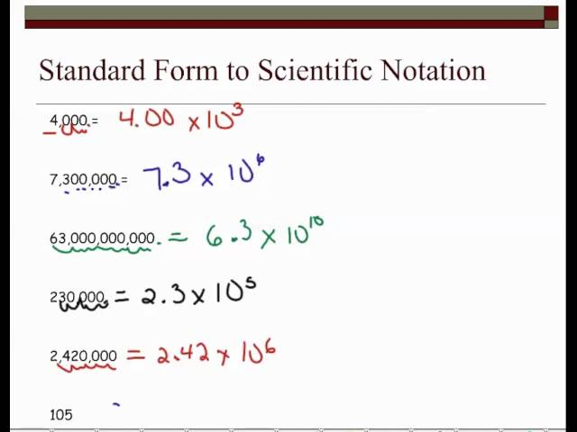 Mm2 B Expressions And Equations Part 1 Scientific Notation