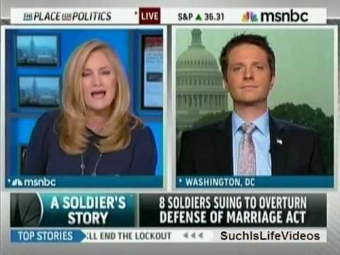 MSNBC - 8 Soldiers Suing To Overturn Defense Of Marriage Act