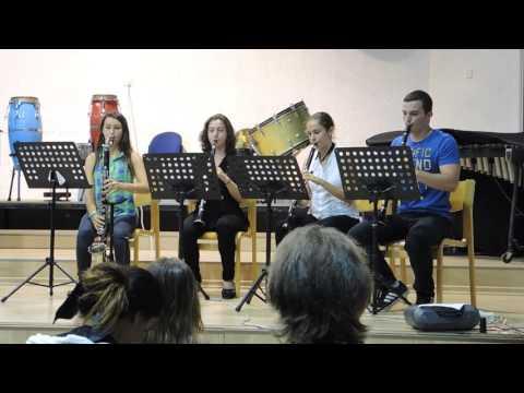 clarinet concert 07, Anatoly Shapiro quintet + quartet , July 2014