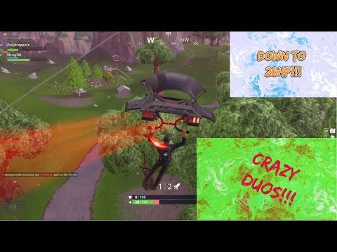 Down To 28 HP | Crazy Duos With Oren | FortNite Battle Royale