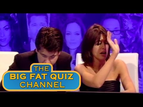 Claudia Winkelman and Davina McCall Want to Double Team Jon Snow - Big Fat Quiz