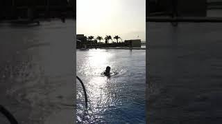 오카다 마닐라 카지노 호텔 바다를끼고있는 야외 수영장