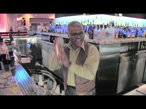 Love Boat Bartender mixes drinks for Tony Dow