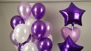 굿벌룬 퍼플톤 헬륨풍선