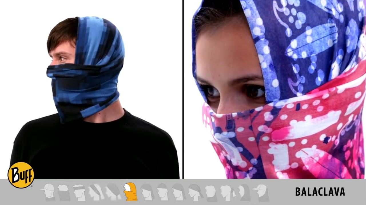How to Wear Original BUFF Headwear - YouTube 36320746816