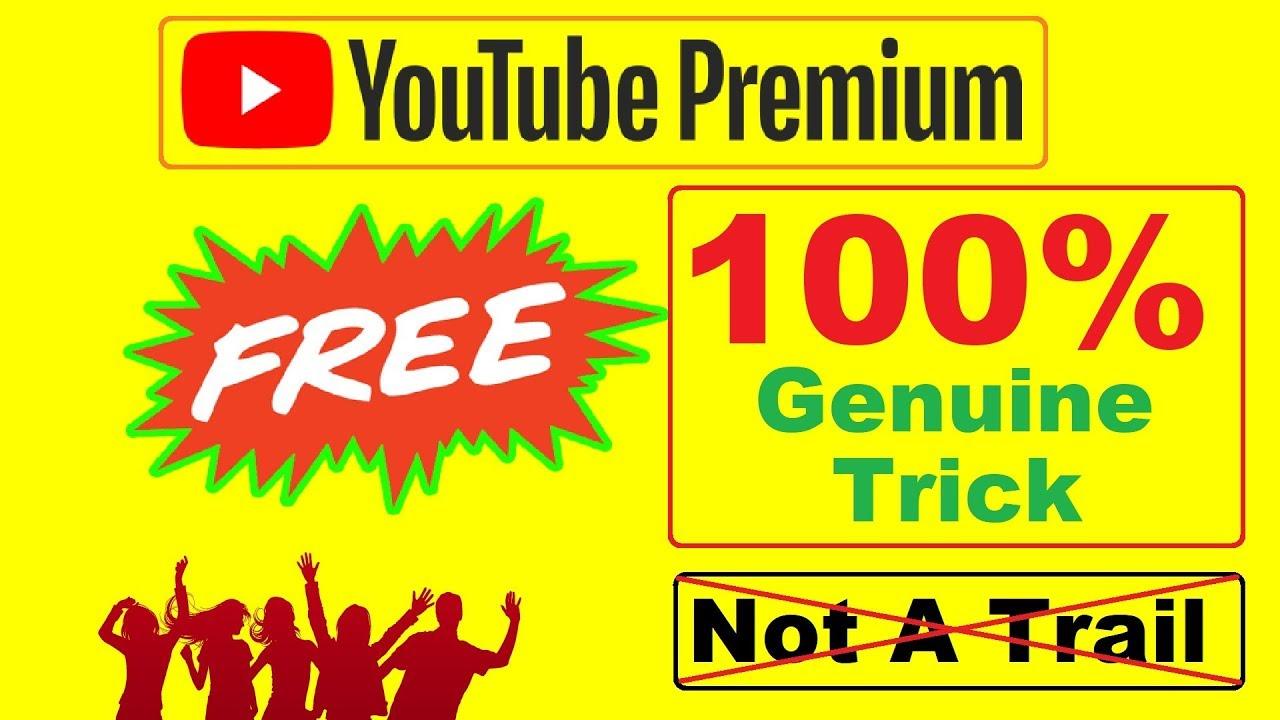 Youtube Premium Free Youtube Premium Free 100 Working Youtube Premium Kya Hai Youtube