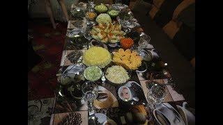 ПРАЗДНИЧНЫЙ стол на День Рождения. Закуски, салаты, горячее. Праздничное меню.