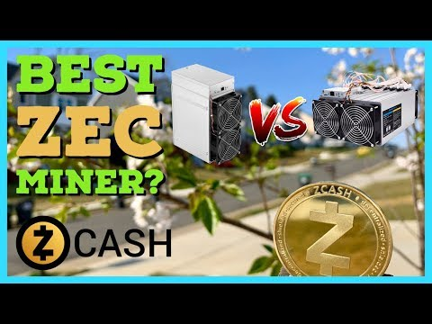 What Is The Best Zcash Zec Miner?! Antminer Z11 Vs Innosilicon A9++