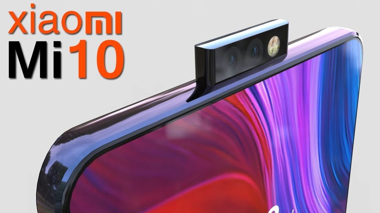 Xiaomi Mi 10 with Dual Pop-up Cameras, 5G Network