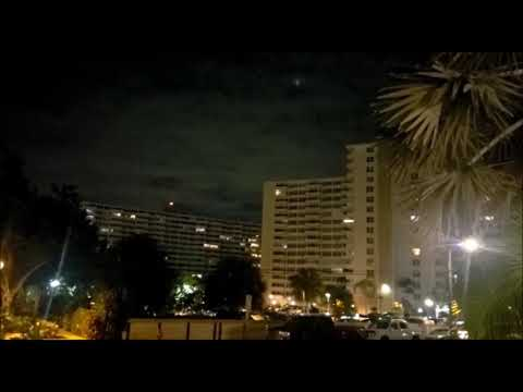 UFO Sighting in Fort Lauderdale, Florida