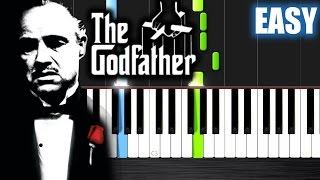 The Godfather Theme - EASY Piano Tutorial by PlutaX