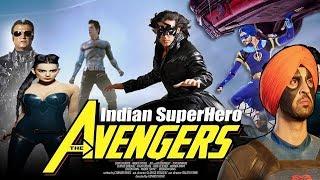 Indian Avengers from Bollywood  || FT Super Singh / Flying Jatt  /krrish