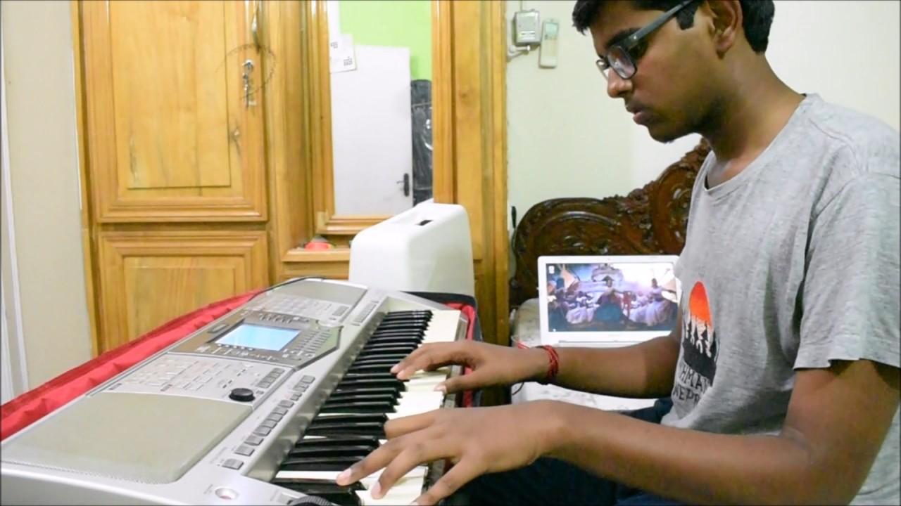 BAAHUBALI 2: THE CONCLUSION - Hamsa Naava on Piano by PJ Frames