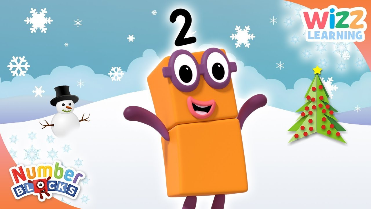 Second Day Of Christmas.Numberblocks Second Day Of Christmas Learn To Count Wizz Learning