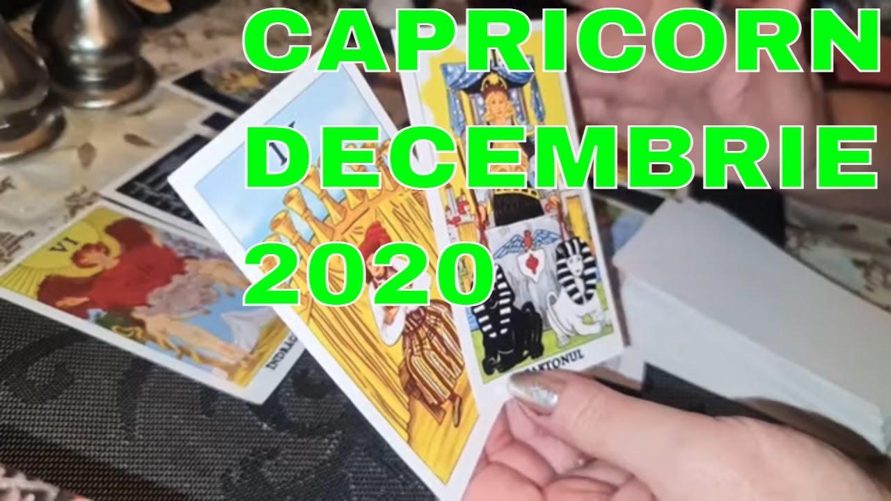 ♑ Zodia CAPRICORN / DECEMBRIE 2020 / Previziuni Tarot ♑