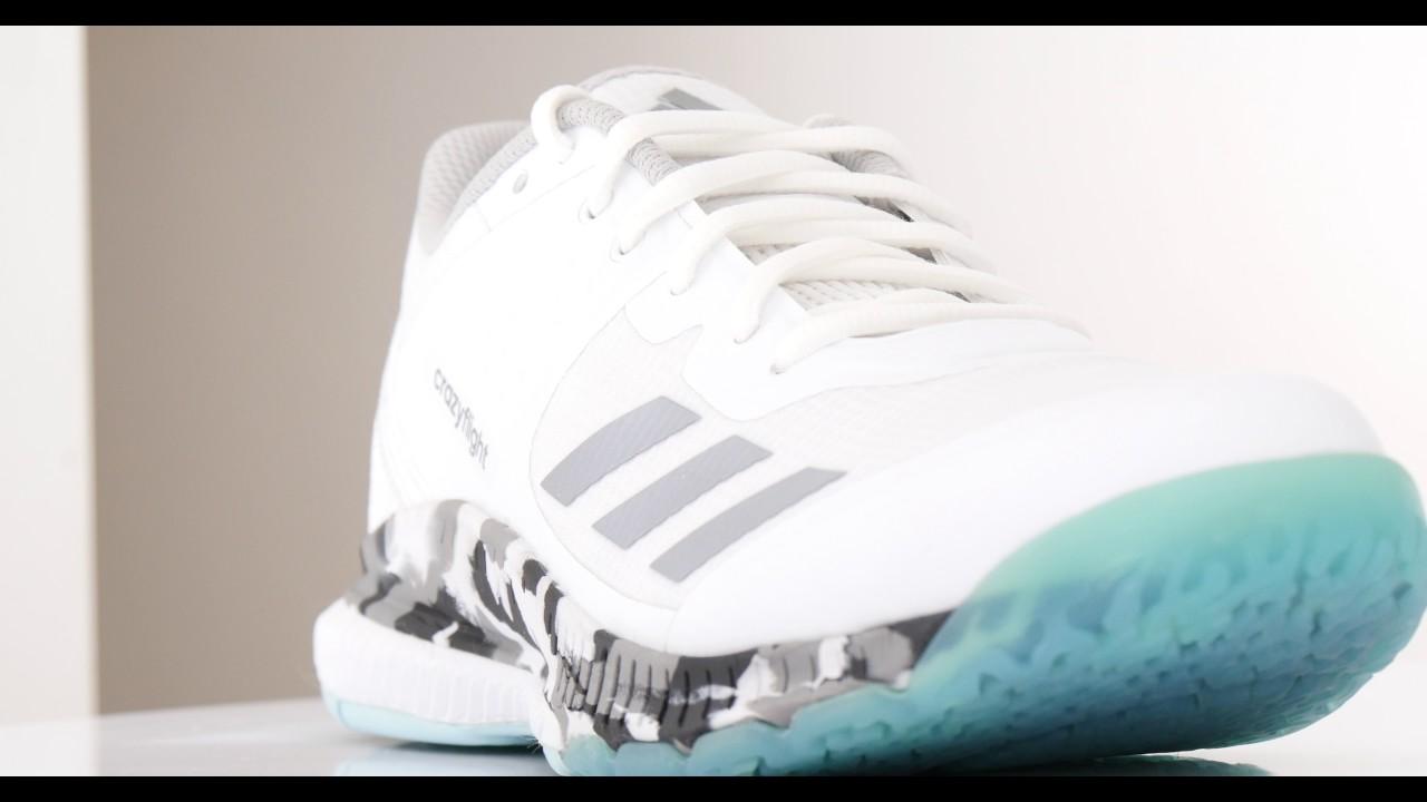 Adidas Crazyflight Bounce 2.0 Volleyballschuh Weiss