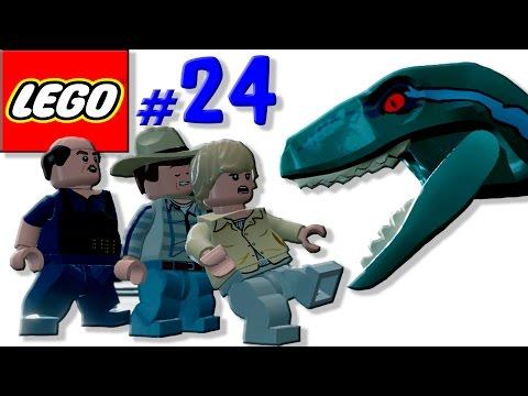 ★ Лего мультик игра про динозавров Мир Юрского периода [24] Центр выращивания динозавров