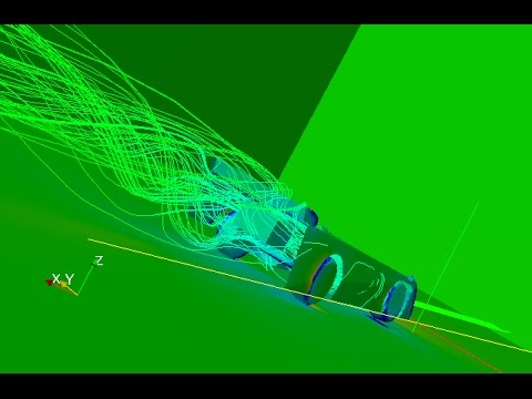 Dirt Late Model CFD Wind Tunnel Analysis