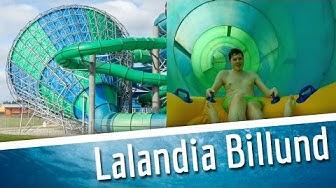 Lalandia Billund - alle Rutschen | Vandrutsjebaner i Aquadome Lalandia