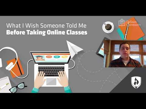 DeSales Wellness - What to Know Before Taking Online Classes