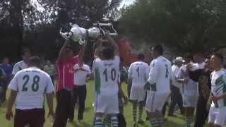 San Miguel es Campeón del futbol dominical