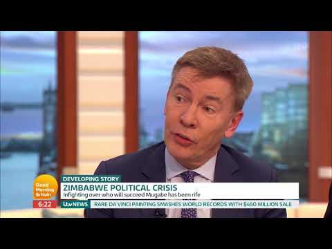 Andrew Pierce and Peter Hain Comment on Zimbabwe Political Crisis | Good Morning Britain