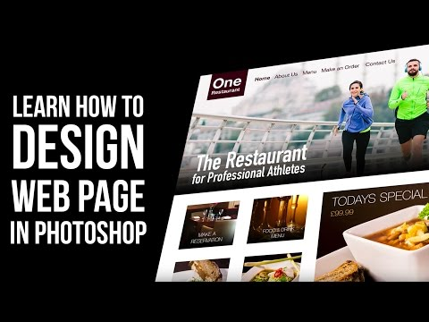 Web Design Tutorial How To Design Website In Oshop