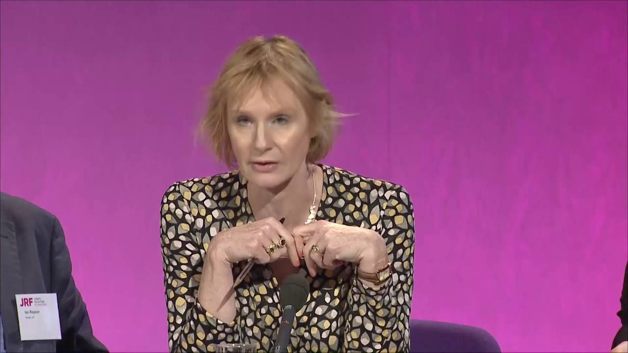 Anne McElvoy - #solveukpoverty - YouTube